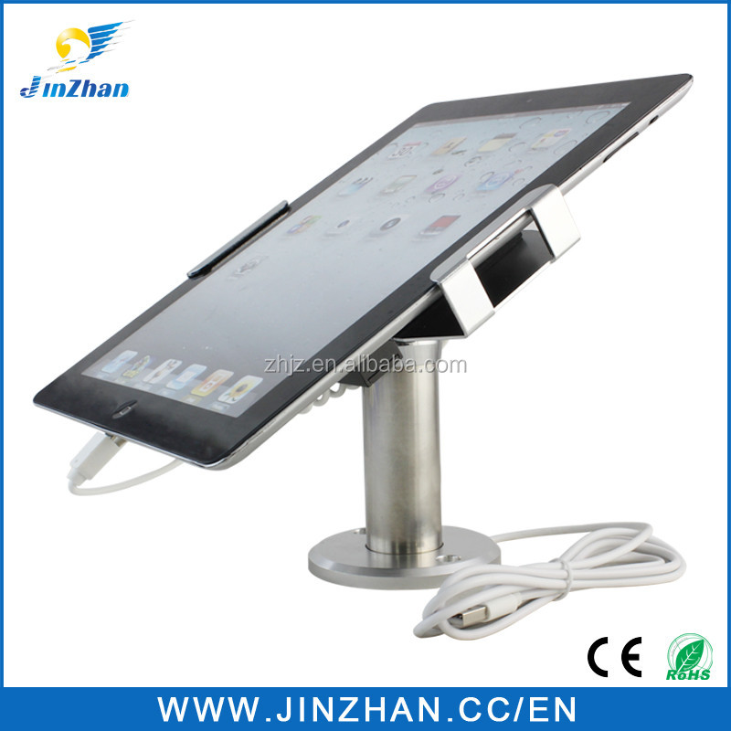 2016 new gadgets metal tablet pos stand for ipad pro