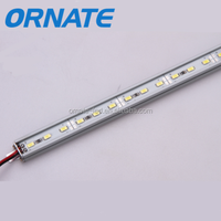 Aluminum plat+ aluminum slot 72leds/m smd5730 / 5630 led rigid strip