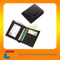 high quality simple design men rfid blocking wallet leather