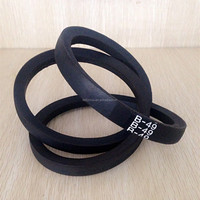 Feilizhou high quality rubber belt wrapped v-belt
