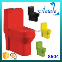 sanitary ware types wc toilet bowl red color toilet #8604