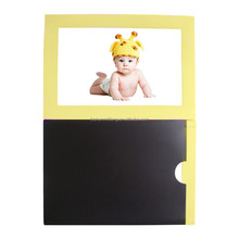 2018 Popular Baby Cute Sets Colorful Decorative Magnetic Photo Frame