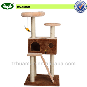 indoor wholesale pet product with hanging bee pet toy cat tree