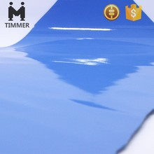 bright mirror surface glazed PU leather for shoes/ bags
