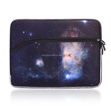 Neoprene waterproof custom size red color computer bag 14 inch 15.6 inch laptop sleeve for office lady