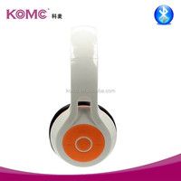 Super bass cheap wireless bluetooth headphone , good stereo quality headsets with mic , supporting MP3 player laptop PC