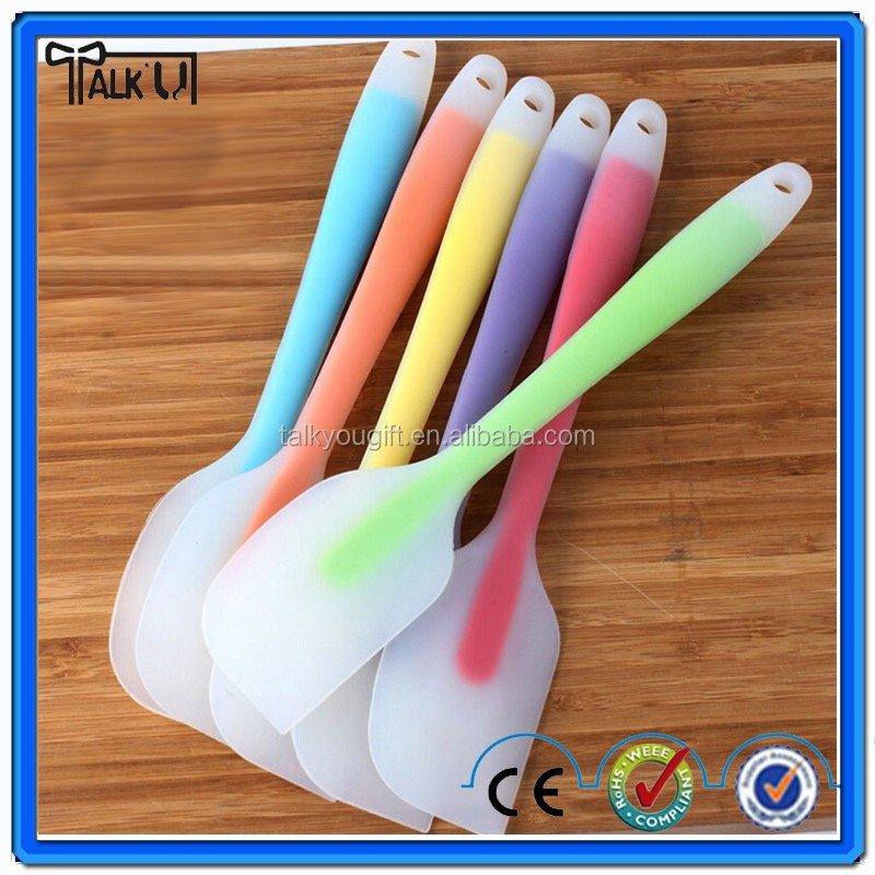 Silicone Mini Cooking Spatula / Large Spoon Cooking Utensil Safe Silicone