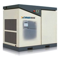 8bar 10bar 12bar 100HP 75KW XLPM100A-t815 frequency convertor screw air compressor