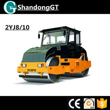 GT 2YJ8/10 static 8 ton three wheeler road roller compactor
