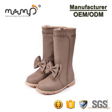 OEM/ODM trendy girls faux leather boots fashion girls Christmas long boots