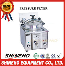 cheap electric pressure fryer for sale/hot sale gas chicken grill machine/cast iron deep fryer