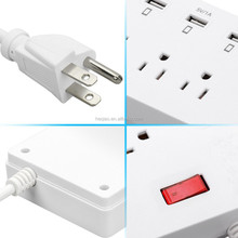 Convenience outlet universal,electrical socket with usb,desktop power strip power board