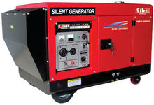 Kibii silent gasoline generator powered by Honda 10kW