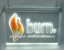 Advertising LED Crystal sign(display, for indoor use)