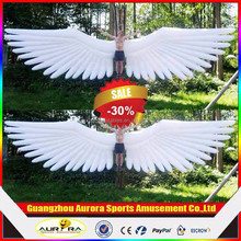Customized advertising inflatable giant wings, human inflatable angel wings for event