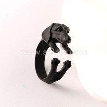 Fashion special design best friends animal shape finger ring