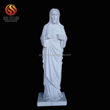 selling white marble Jesus Christ sculpture