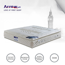 Arrow Soft 5 Star Hotel Bed Mattress King Size Memory Foam Bed Mattress