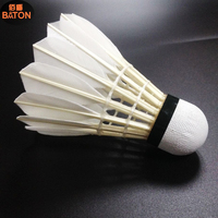 rcl shuttlecock goose feather badminton shuttlecock rcl 2 layers cork