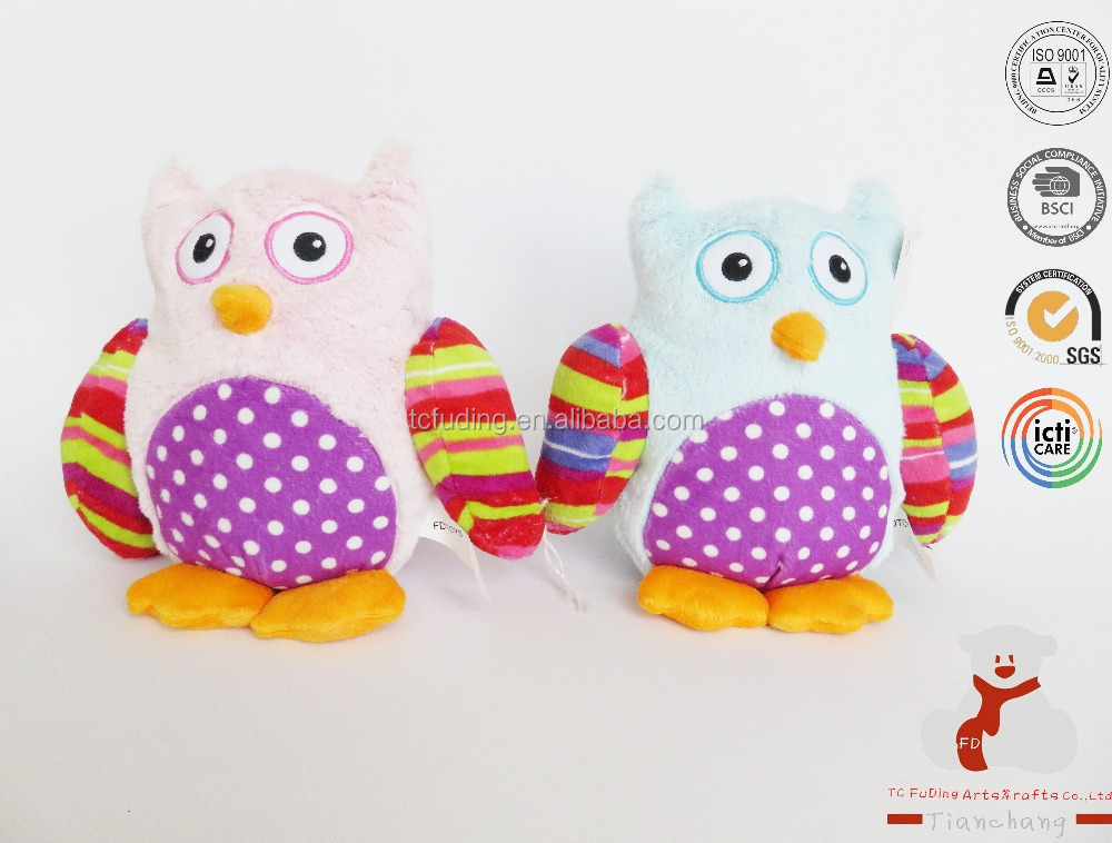 OEM Doll Soft Owl Animal Plush Toy for Sale