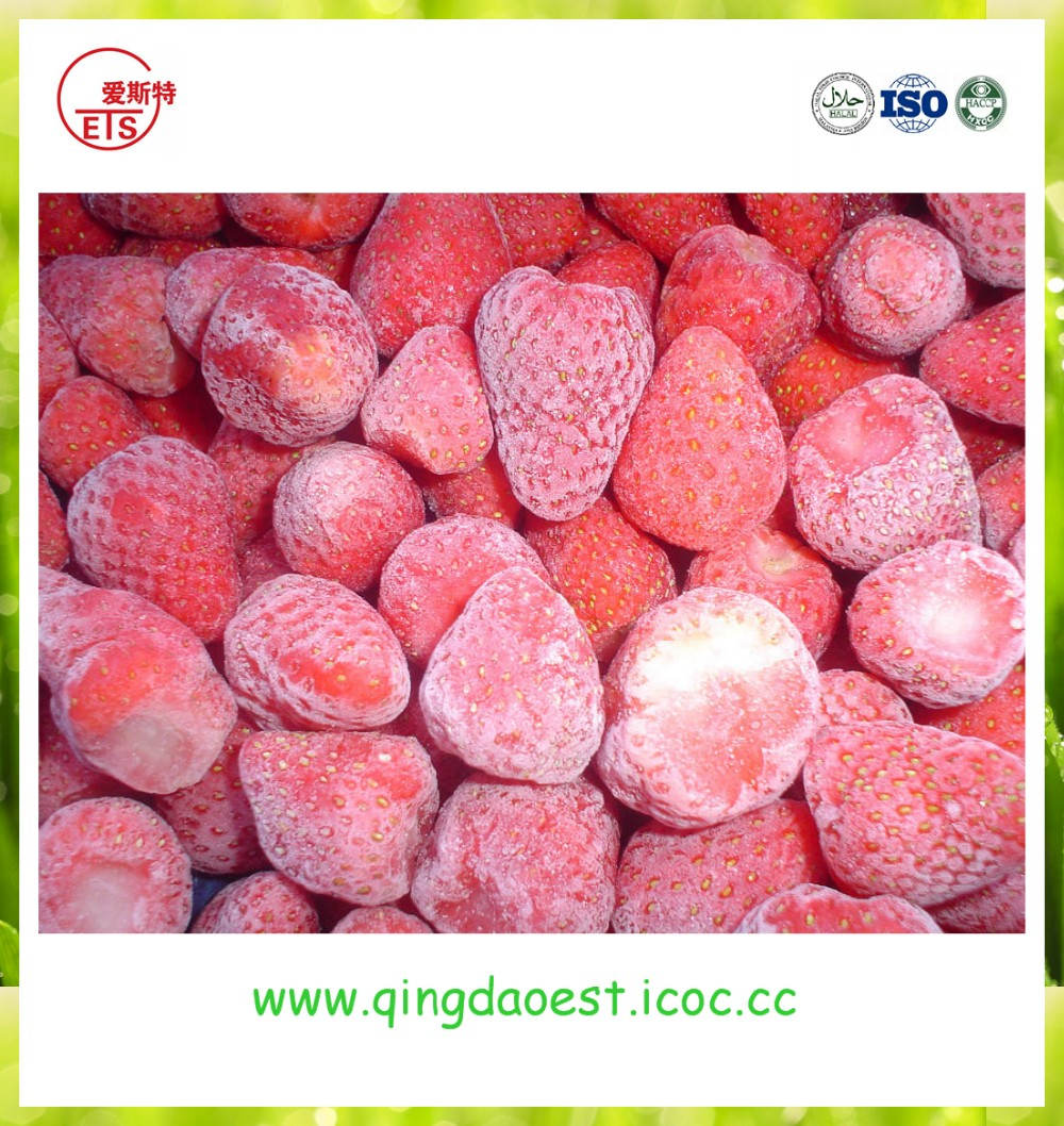 Wholesale Bulk Hot sale export FACTORT PRICE frozen IQF fresh strawberry