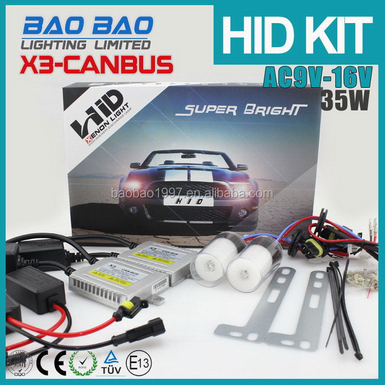 HOT SALE Super quality Best-Selling car accessory dc hid xenon ballast kit