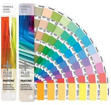 Color shade guide USA pantone C&U color chart books