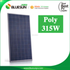 Best quality high voltage poly 310w 315w 48v solar panel solar price
