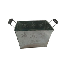 100% handmade iron flower pot