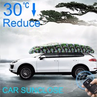 SUNCLOSE new car accessories products front window shades type Auto Cover Electric
