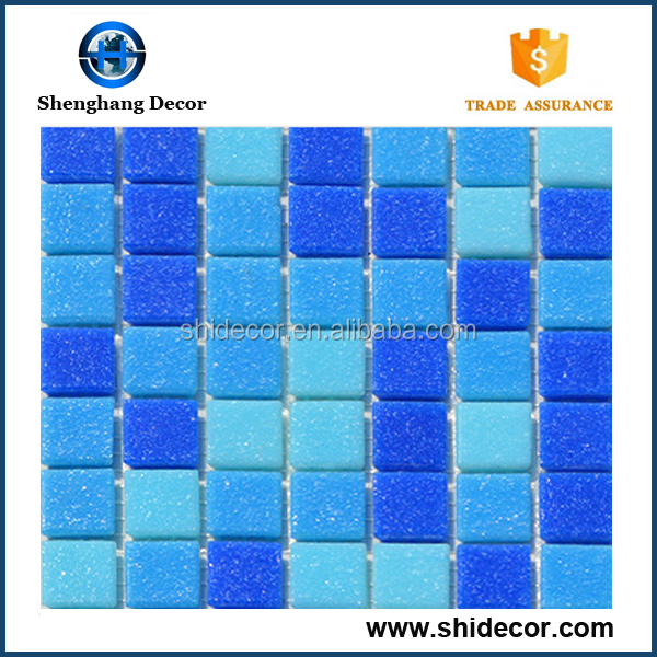 Cheap Price swimming pool mosiac tiles for exterior swimming pool decoration