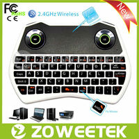 multimedia remote control keyboard with air mouse and touchpad for smart tv