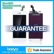 Factory price display touch screen digitizer repair lcd for iphone 5s