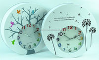 fridge magnet clock