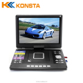 LED 13.3 inch DVB-T2 TV DVD Player with Li polymer battery Analogue TV support USB SD VGA PC monitor Rotation screen KA-1511D