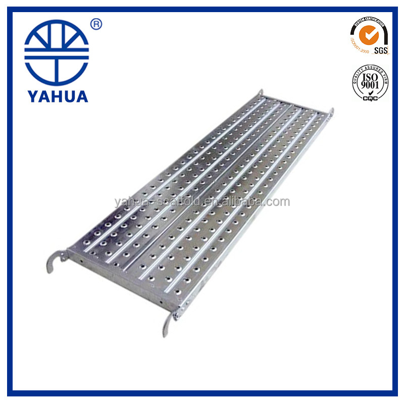 Scaffolding Parts Type HDG Scaffolding Planks For Building
