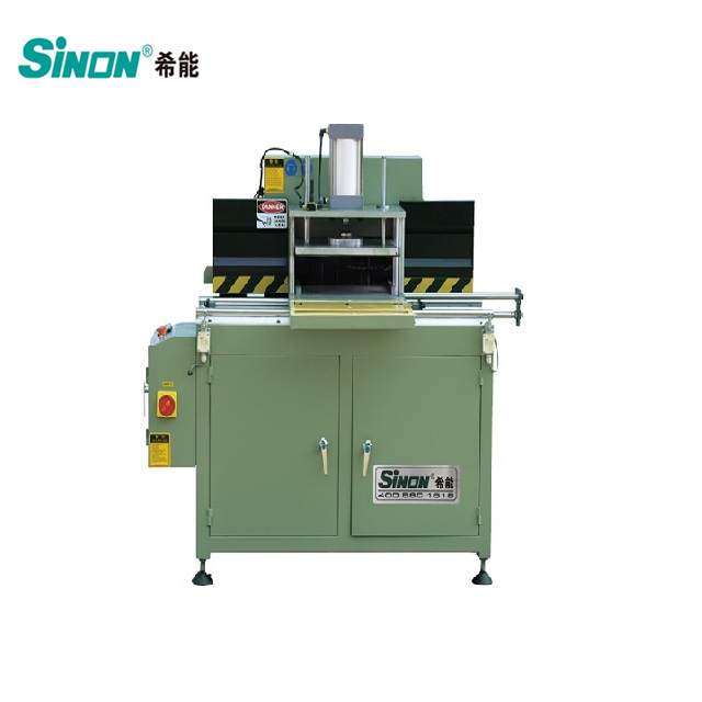 aluminium extrusion end face milling machine without mould