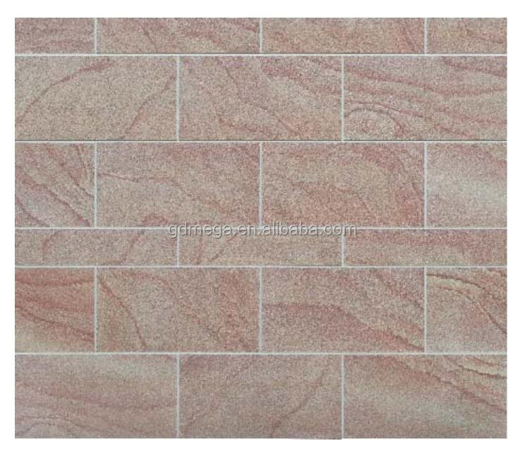 First eco-friendly sandstone tiles with natural texture