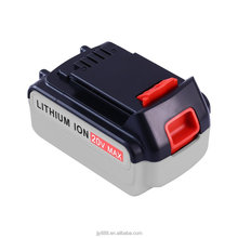 Wholesale OEM 20V 4500mAh Li-ion skillful manufacture rechargeable Power Tools Battery for Black& Decker LBXR20 LB20 LBX20 LCS20