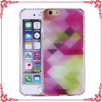 creative design printer phone shell cover tpu case for iphone 6