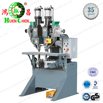 Folder/lever arch file ring binder and clipboard clips riveting machine