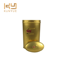 Portable Matel Tin Can With Lid