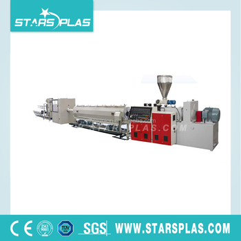 Electric plastic hose PVC pipe extrusion line