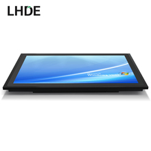 17 inch lcd panel pc computer, industrial intel processor mini pc multi touch 10 points