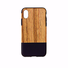 Hot selling Customized high quality wooden phone case for iphone