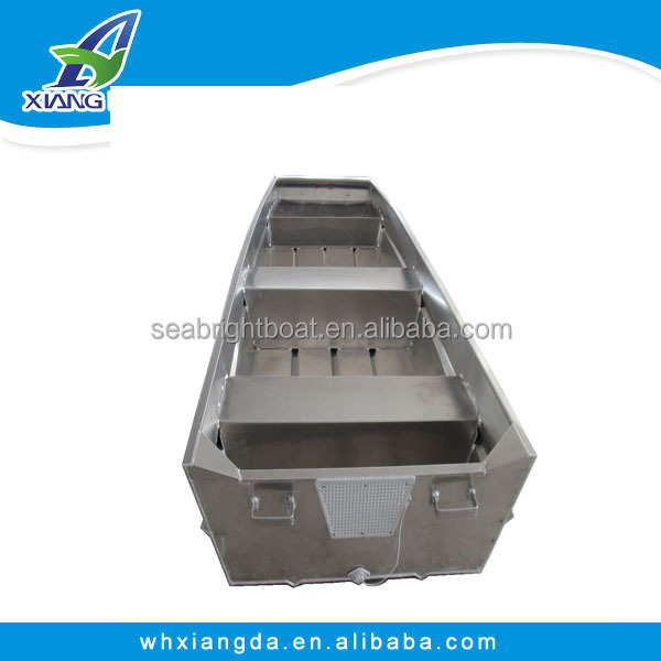 China Cheap Full Welded Aluminum salvage pontoon boats