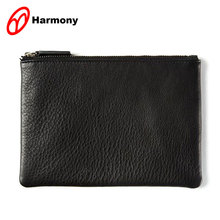 Cosmetic personlized makeup pouch cheap leather bag