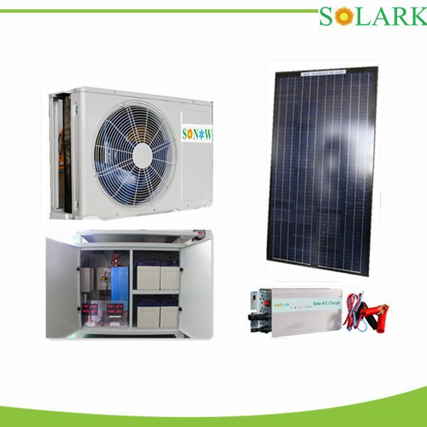 the most advavced in the world ECOOL 100% Solar Powered Air Conditioner -------9000btu/1HP/0.75TON