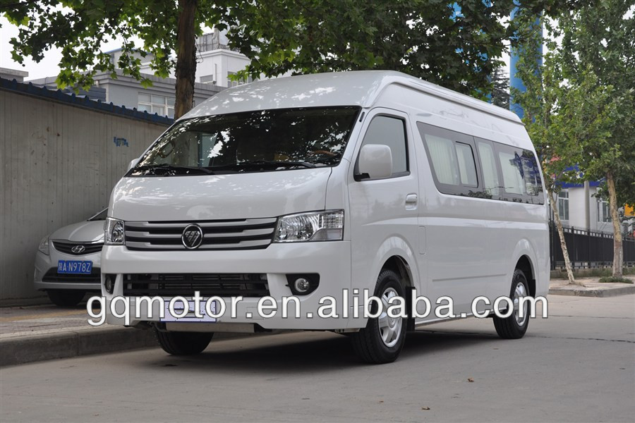 Double Row Seat RHD 4x2 Gasoline Van