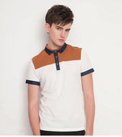 China manufacturer yarn dyed polo t shirt manufactured in